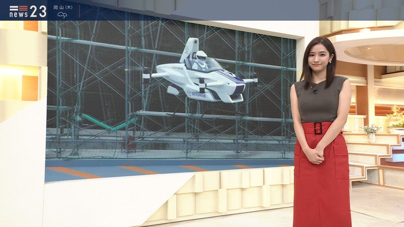 【田村真子キャプ画像】TBS女子アナウンサーのニット越しおっぱい! 46