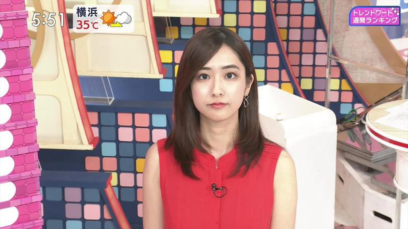 【田村真子キャプ画像】TBS女子アナウンサーのニット越しおっぱい! 60
