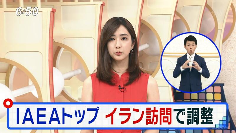 【田村真子キャプ画像】TBS女子アナウンサーのニット越しおっぱい! 72