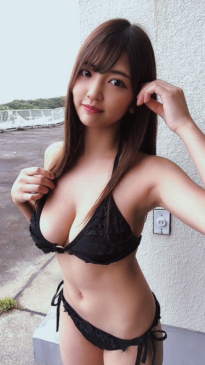 【藤乃あおいエロ画像】高校生でFカップあったという新人グラドルのメートルおっぱい! 39