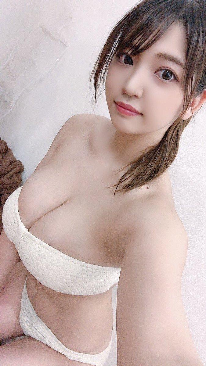 【藤乃あおいエロ画像】高校生でFカップあったという新人グラドルのメートルおっぱい! 56