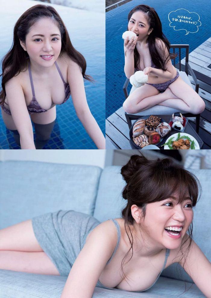【谷あさこエロ画像】大食いタレントとして人気を得ちゃった女子アナw 55