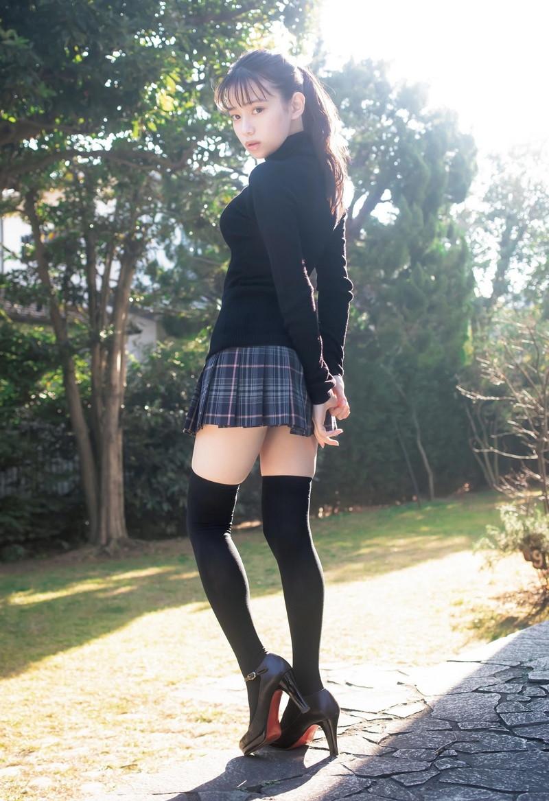 【あかせあかりグラビア画像】コスプレは自撮り綺麗だけど素のグラビアも可愛い! 36