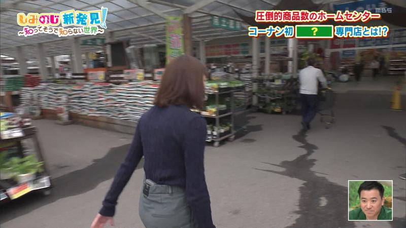 【清水麻椰キャプ画像】新人女子アナウンサーの着衣おっぱいとお尻! 37