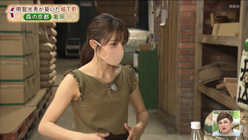 【清水麻椰キャプ画像】新人女子アナウンサーの着衣おっぱいとお尻! 57