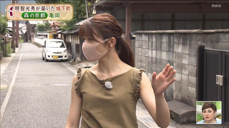 【清水麻椰キャプ画像】新人女子アナウンサーの着衣おっぱいとお尻! 58