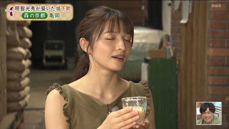 【清水麻椰キャプ画像】新人女子アナウンサーの着衣おっぱいとお尻! 59