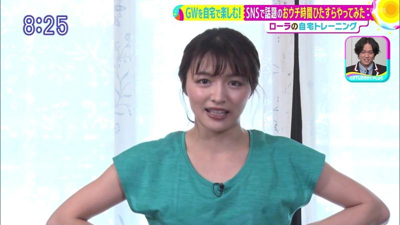 【清水麻椰キャプ画像】新人女子アナウンサーの着衣おっぱいとお尻! 74