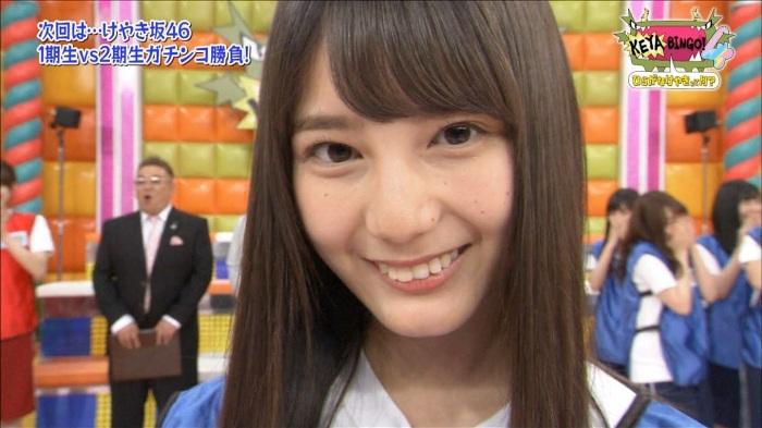 【小坂菜緒キャプ画像】日向坂46美少女アイドルのめっちゃ可愛い顔アップ! 09
