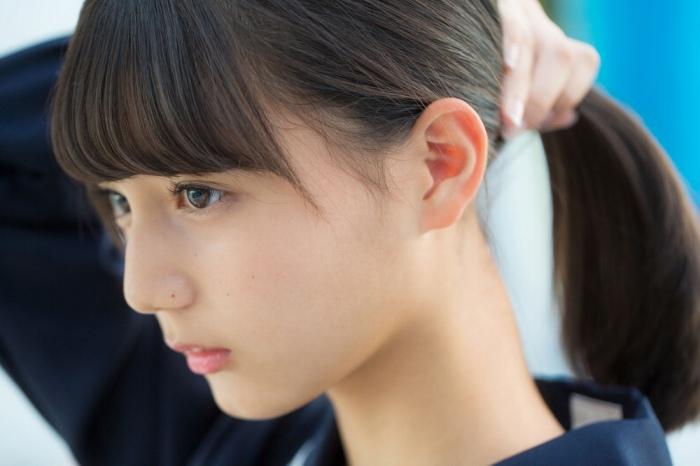 【小坂菜緒キャプ画像】日向坂46美少女アイドルのめっちゃ可愛い顔アップ! 44