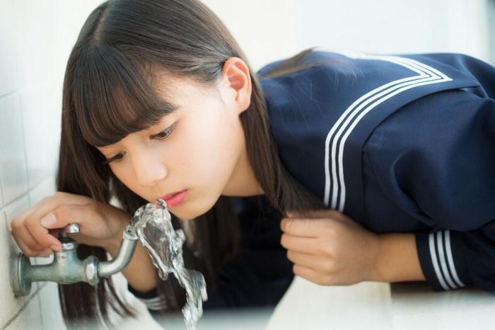 【小坂菜緒キャプ画像】日向坂46美少女アイドルのめっちゃ可愛い顔アップ! 45