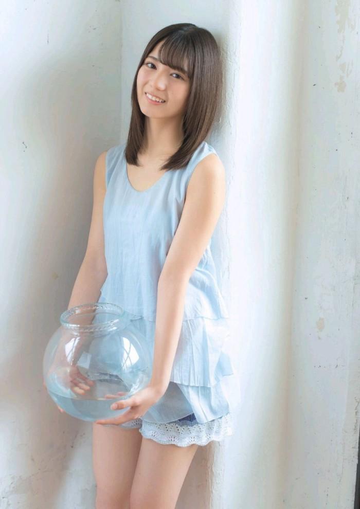 【小坂菜緒キャプ画像】日向坂46美少女アイドルのめっちゃ可愛い顔アップ! 60