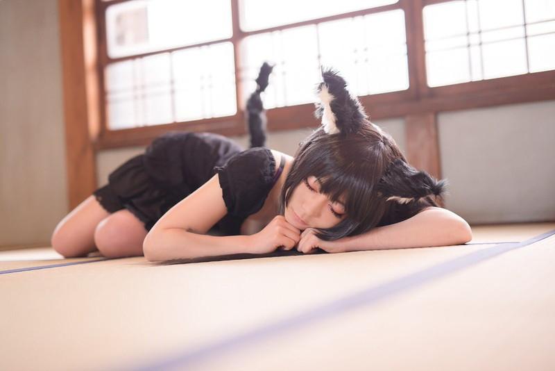 【コスプレエロ画像】猫の日に可愛くてエッチな姿をネットで見せちゃう女の子 28