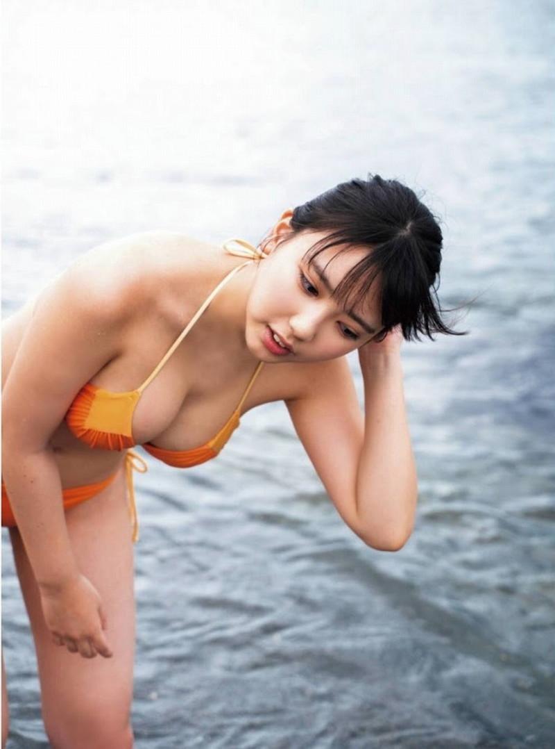 【沢口愛華グラビア画像】まだまだ現役女子高生のFカップ美少女グラドル 21
