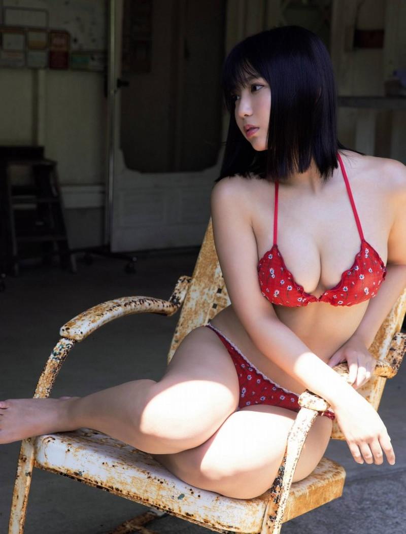 【沢口愛華グラビア画像】まだまだ現役女子高生のFカップ美少女グラドル 33
