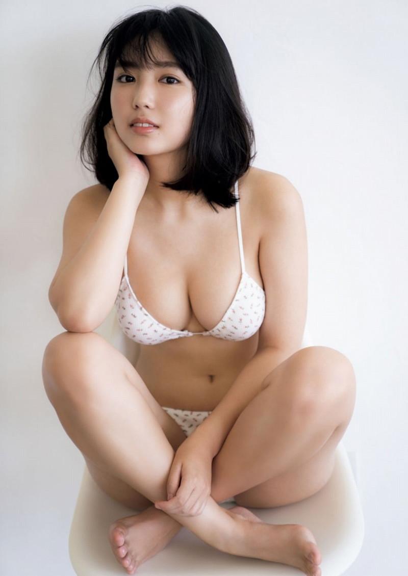 【沢口愛華グラビア画像】まだまだ現役女子高生のFカップ美少女グラドル 42