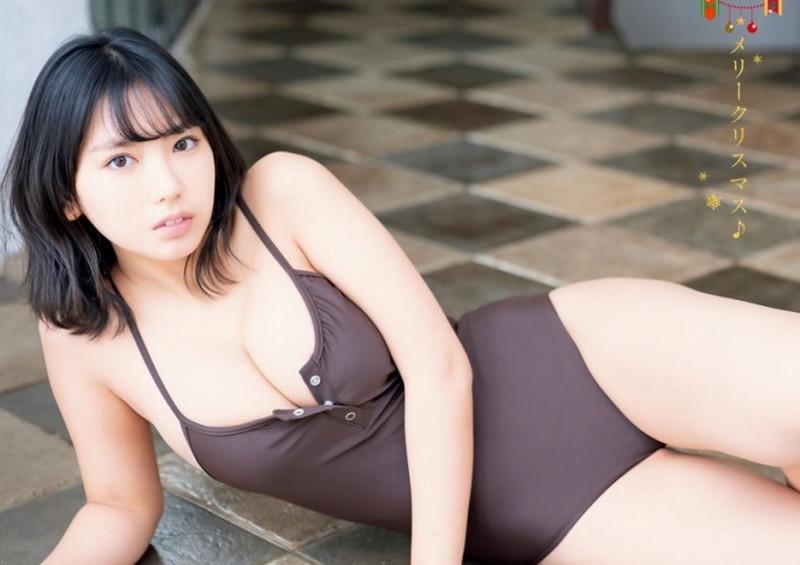 【沢口愛華グラビア画像】まだまだ現役女子高生のFカップ美少女グラドル 59
