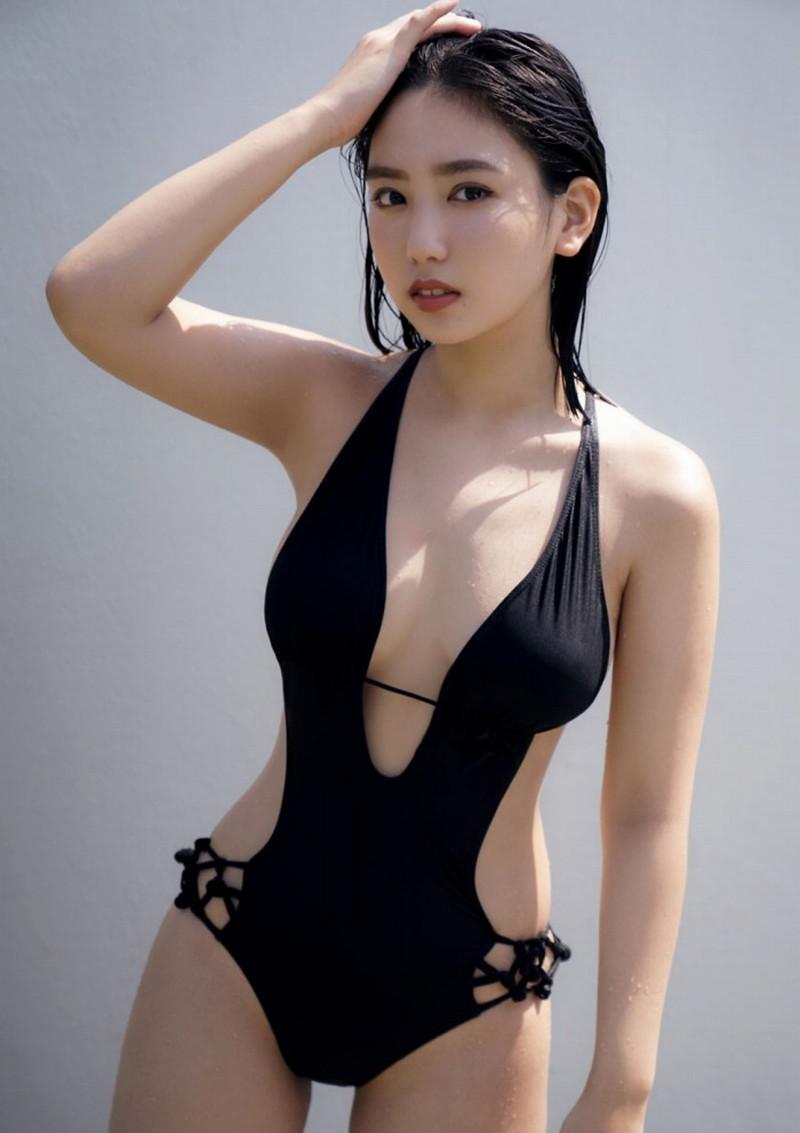 【沢口愛華グラビア画像】まだまだ現役女子高生のFカップ美少女グラドル 65