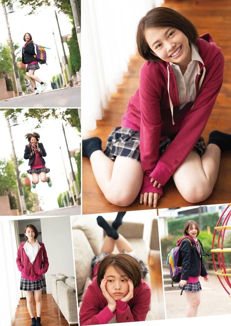 【新田あゆなグラビア画像】ショートカットが似合って可愛いミスコン美少女 50