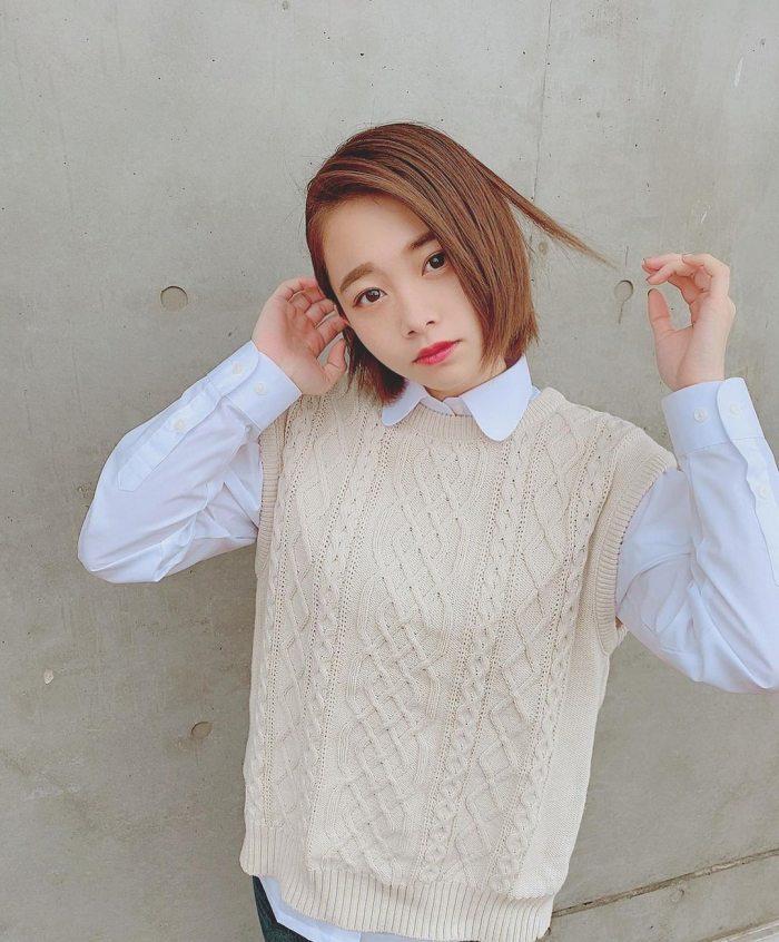 【新田あゆなグラビア画像】ショートカットが似合って可愛いミスコン美少女 58