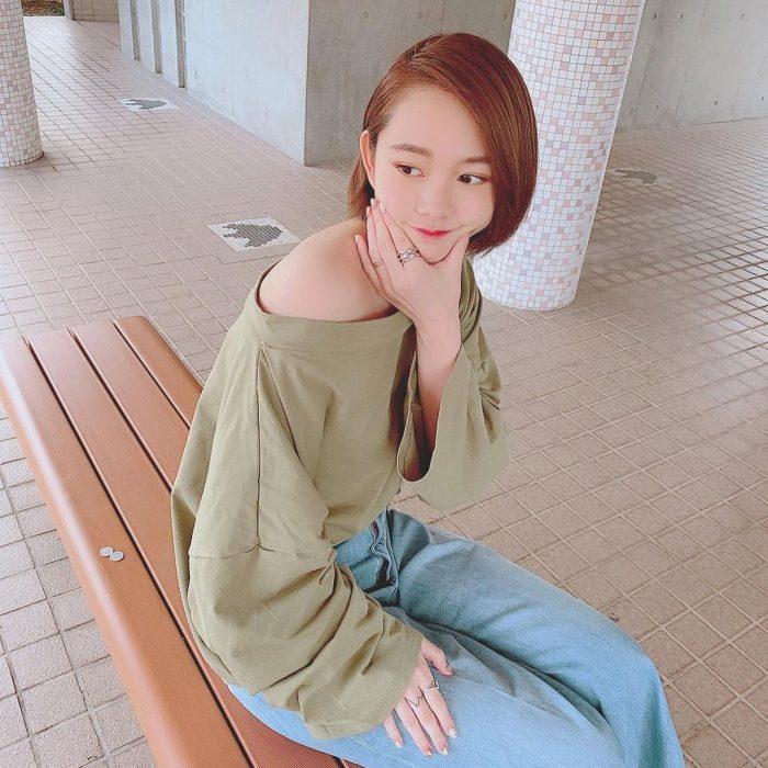 【新田あゆなグラビア画像】ショートカットが似合って可愛いミスコン美少女 59