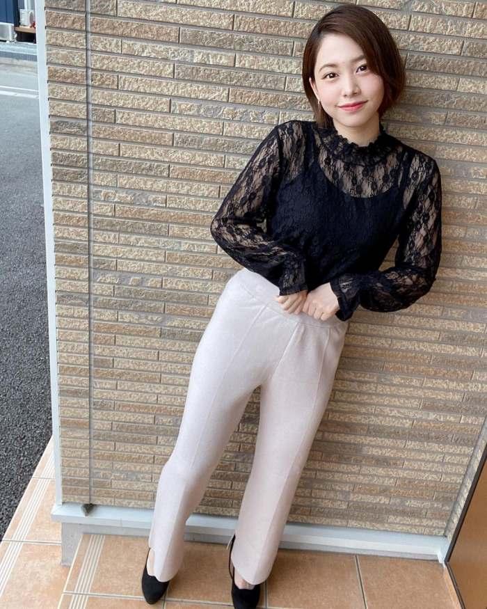 【新田あゆなグラビア画像】ショートカットが似合って可愛いミスコン美少女 62