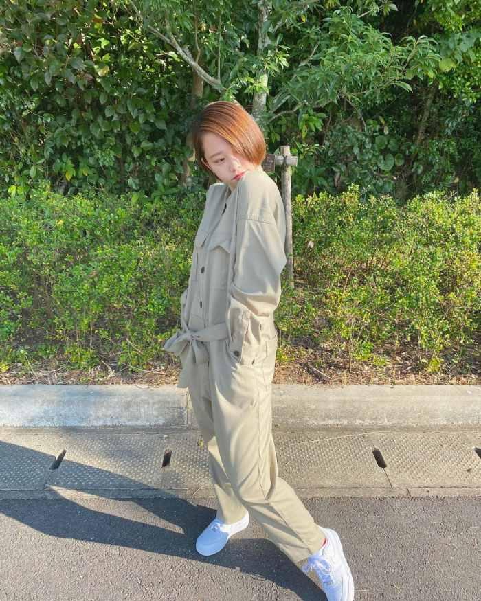 【新田あゆなグラビア画像】ショートカットが似合って可愛いミスコン美少女 64