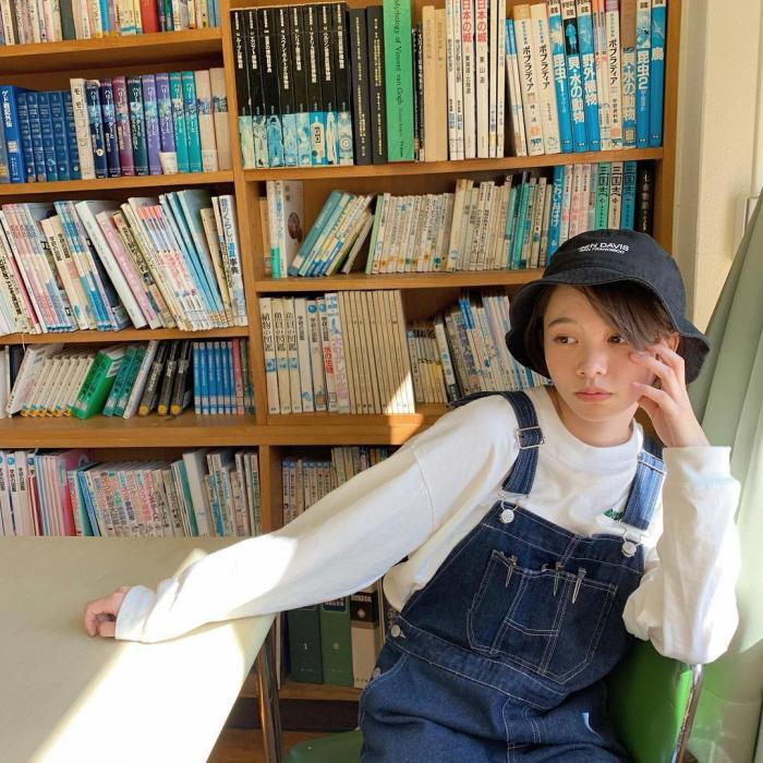 【新田あゆなグラビア画像】ショートカットが似合って可愛いミスコン美少女 70