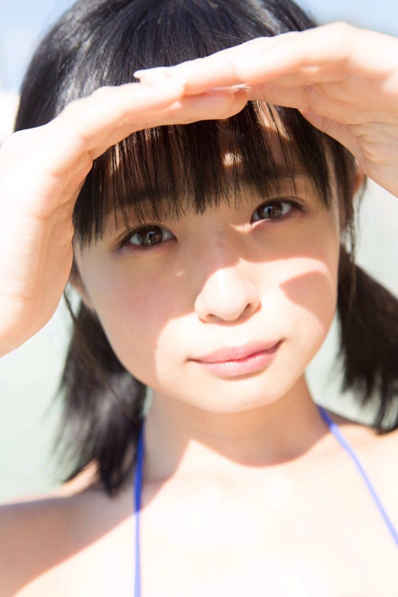 【西葉瑞希エロ画像】平成最後のロリ巨乳と称される童顔アイドルのグラビア! 31