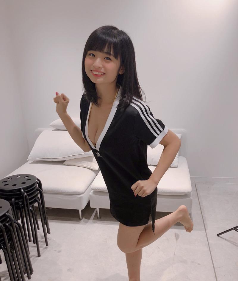 【西葉瑞希エロ画像】平成最後のロリ巨乳と称される童顔アイドルのグラビア! 44