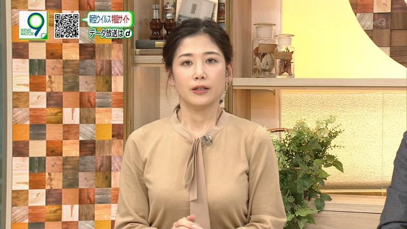 【桑子真帆キャプ画像】意外とオッパイが大きいNHK女子アナウンサーw
