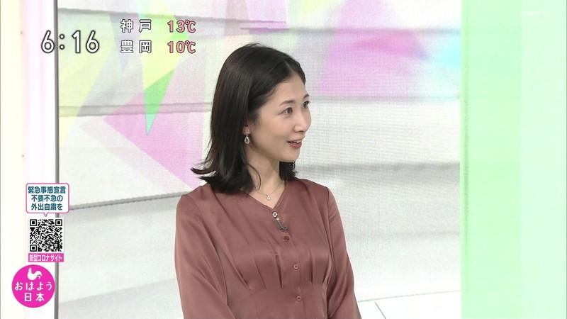 【桑子真帆キャプ画像】意外とオッパイが大きいNHK女子アナウンサーw 04