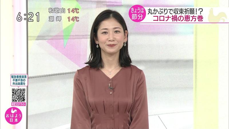 【桑子真帆キャプ画像】意外とオッパイが大きいNHK女子アナウンサーw 06