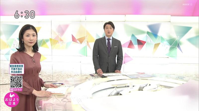 【桑子真帆キャプ画像】意外とオッパイが大きいNHK女子アナウンサーw 08