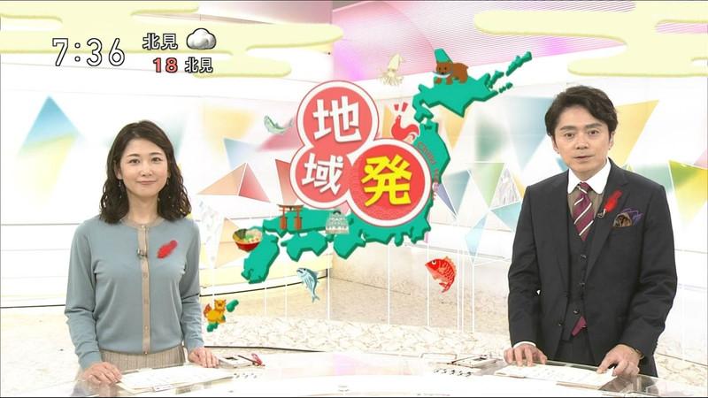【桑子真帆キャプ画像】意外とオッパイが大きいNHK女子アナウンサーw 25