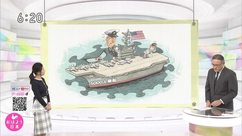【桑子真帆キャプ画像】意外とオッパイが大きいNHK女子アナウンサーw 37