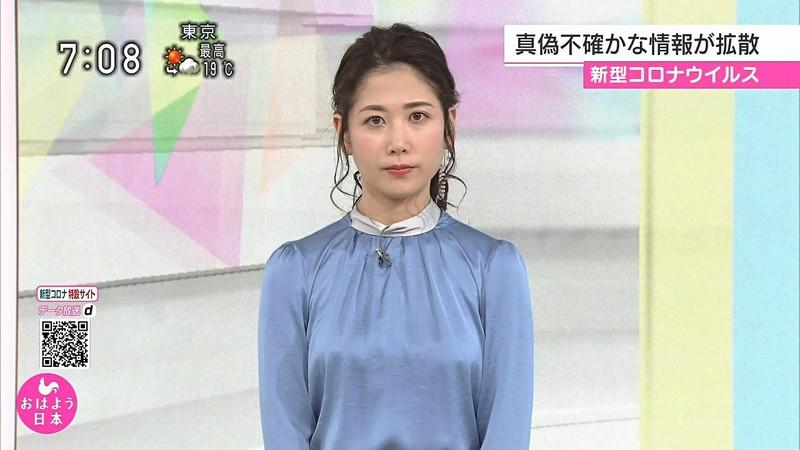 【桑子真帆キャプ画像】意外とオッパイが大きいNHK女子アナウンサーw 42