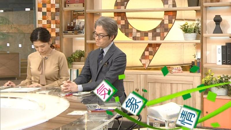 【桑子真帆キャプ画像】意外とオッパイが大きいNHK女子アナウンサーw 47