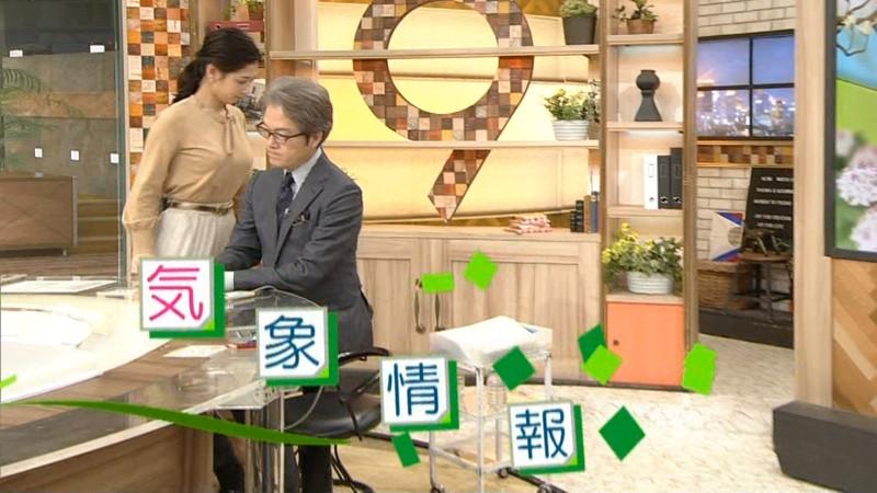 【桑子真帆キャプ画像】意外とオッパイが大きいNHK女子アナウンサーw 49