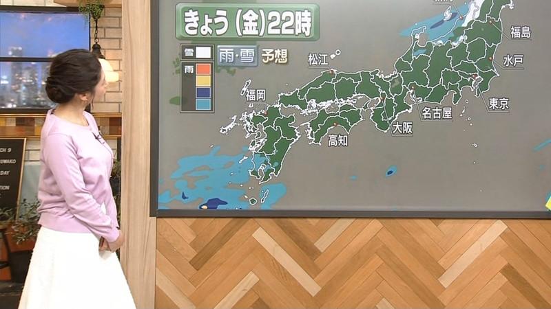 【桑子真帆キャプ画像】意外とオッパイが大きいNHK女子アナウンサーw 59