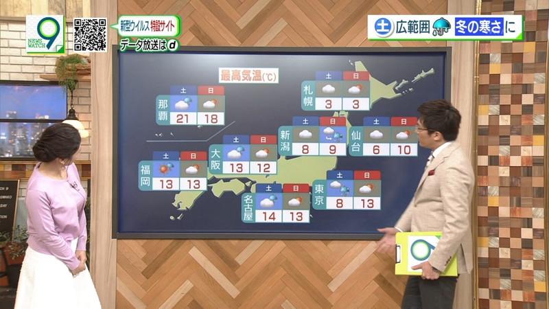 【桑子真帆キャプ画像】意外とオッパイが大きいNHK女子アナウンサーw 60