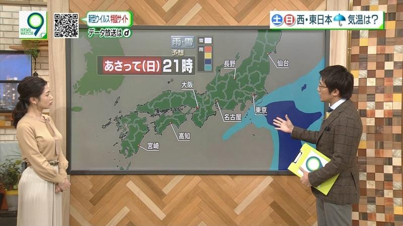 【桑子真帆キャプ画像】意外とオッパイが大きいNHK女子アナウンサーw 72
