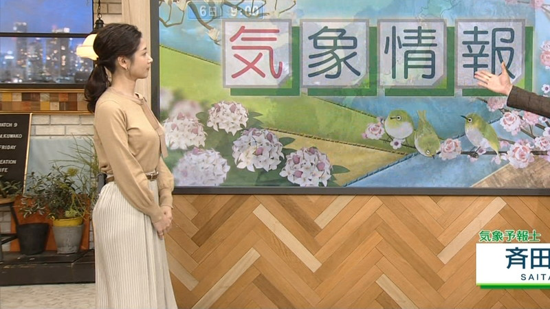 【桑子真帆キャプ画像】意外とオッパイが大きいNHK女子アナウンサーw 74