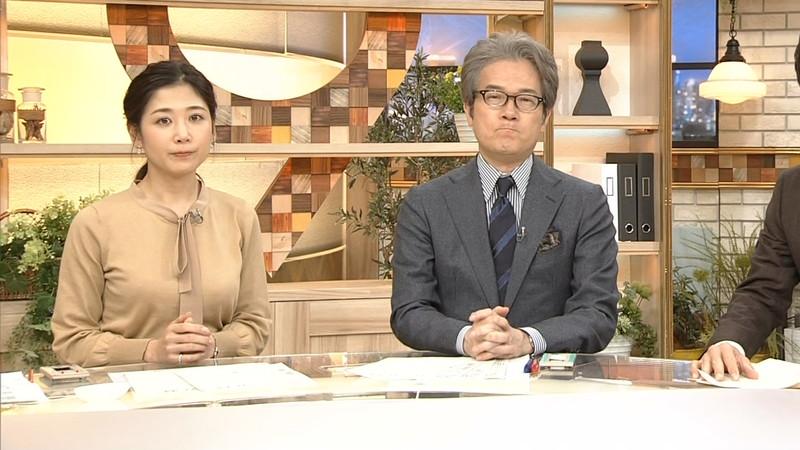 【桑子真帆キャプ画像】意外とオッパイが大きいNHK女子アナウンサーw 76
