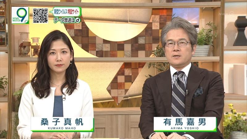 【桑子真帆キャプ画像】意外とオッパイが大きいNHK女子アナウンサーw 78