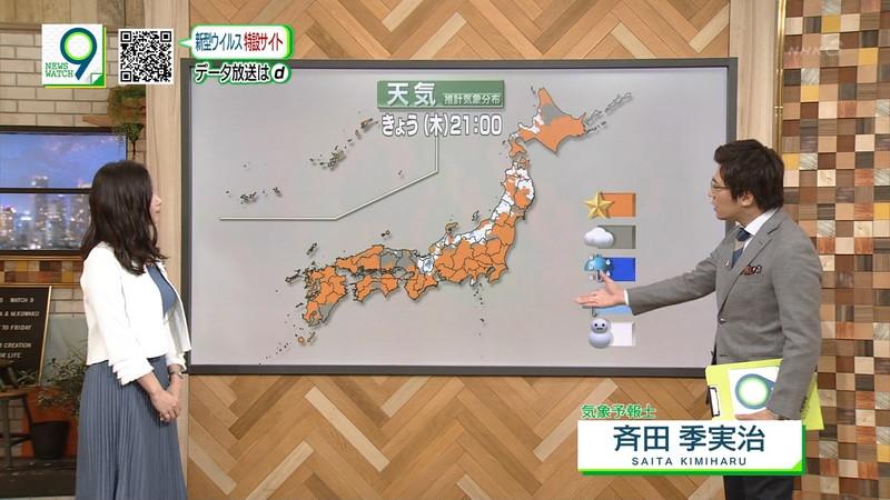 【桑子真帆キャプ画像】意外とオッパイが大きいNHK女子アナウンサーw 79