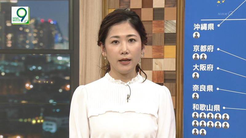 【桑子真帆キャプ画像】意外とオッパイが大きいNHK女子アナウンサーw 84