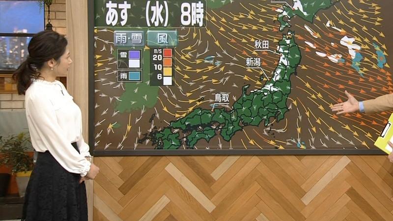 【桑子真帆キャプ画像】意外とオッパイが大きいNHK女子アナウンサーw 86