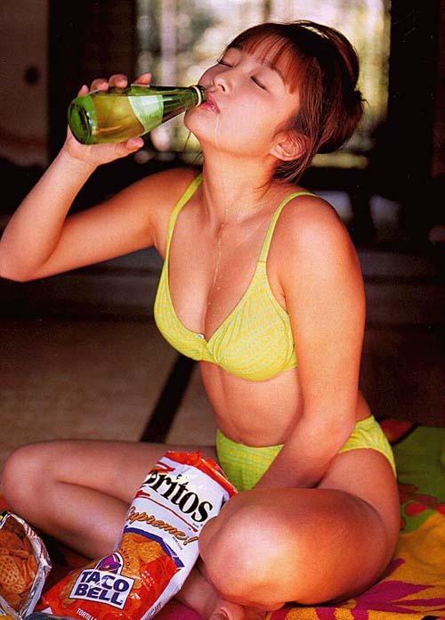【山田まりあお宝画像】クレヨンしんちゃんが好きなアイドルだったわwwww 33