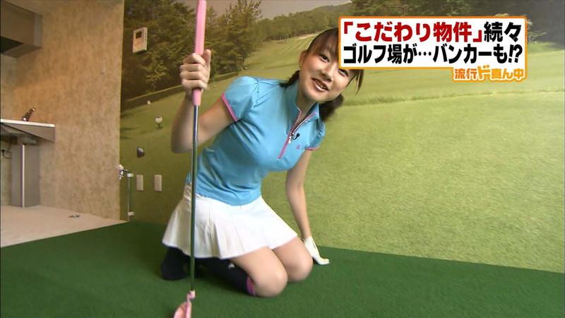 【大島由香里キャプ画像】着衣おっぱいとグラビアの谷間がエロい美熟女アナ! 55